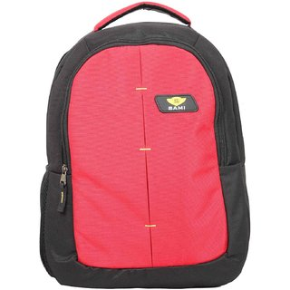e777a2b00b Buy Sami Laptop Backpack - Black Red Online - Get 0% Off