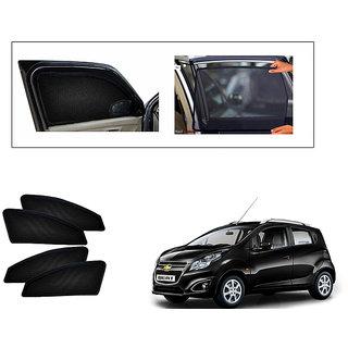 Generic Magnetic  Curtain Car Sunshades Set Of 4-Chevrolet Beat