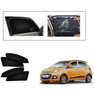 Generic Magnetic  Curtain Car Sunshades Set Of 4-Hyundai Grand i10