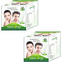 Aloe Vera Gel Herbal Natural Skin Moisturizer For Men And Women 4 Packs