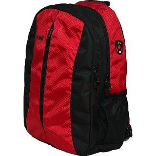 Newera Wikkd 35 L Laptop Backpack         (Black, Red)
