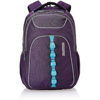 American Tourister Polyester Purple Laptop Bag (29W (0) 50 001)