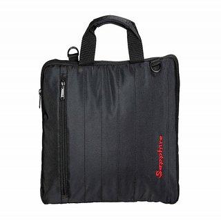 Sapphire Carbon Black Laptop Slim Bags