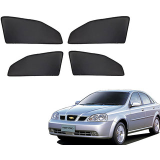 Generic Z Black  Magnetic  Curtain Car Sunshades Set Of 4-Chevrolet Optra