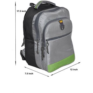 GENE LAPTOP BAG ( NR-1121-GRN-SLVR )