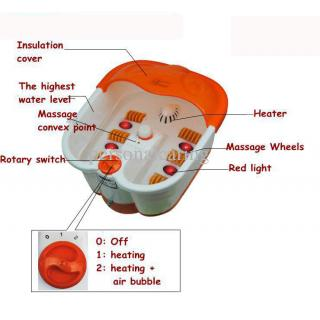 V and G Footbath Detox Massager