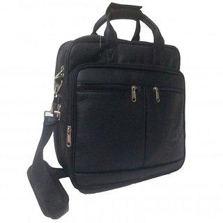 Apnav Black Laptop/File Bag