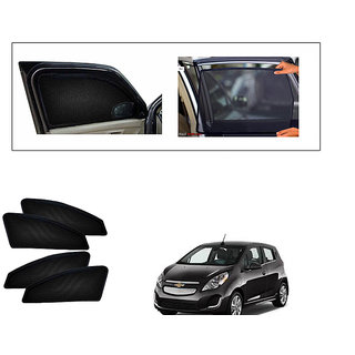 Generic Magnetic  Curtain Car Sunshades Set Of 4-Chevrolet Spark