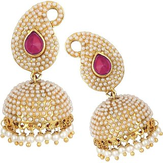 Penny Jewels Traditional Fashion Designer Funky Jhumki Set For Women  Girls