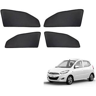 Generic Z Black  Magnetic  Curtain Car Sunshades Set Of 4-Hyundai i10 Old