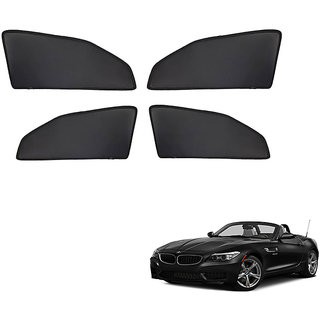 Generic Z Black  Magnetic  Curtain Car Sunshades Set Of 4-BMW Z4
