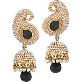 Penny Jewels Traditional Antique Fancy Glamour Trendy Jhumki Set For Women  Girls