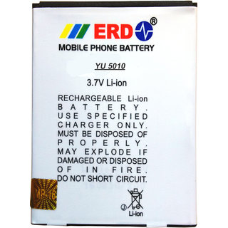 Erd Compatible Battery For Micromax Yuphoria yu 5010A