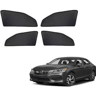 Generic Z Black  Magnetic  Curtain Car Sunshades Set Of 4-Honda Accord