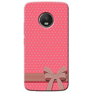 huge discount e185f 85396 Yolodesi Cute Girl Bow Back Cover For Motorola Moto E4 Plus