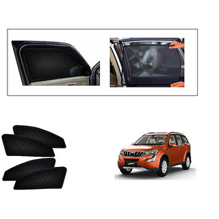 Generic Magnetic  Curtain Car Sunshades Set Of 4-Mahindra XUV500 New (Type 2)