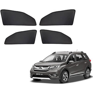 Generic Z Black  Magnetic  Curtain Car Sunshades Set Of 4-Honda BRV