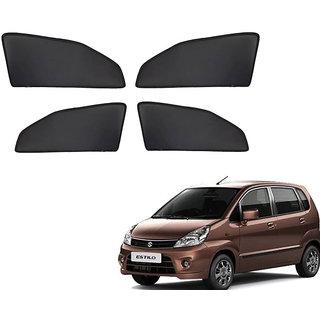 Generic Z Black  Magnetic  Curtain Car Sunshades Set Of 4-Maruti Suzuki Zen Estilo