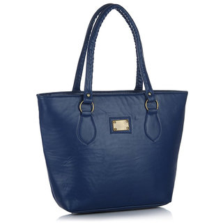 Clementine Premium PU Leather Women's Handbag (Blue Color sskclem219)