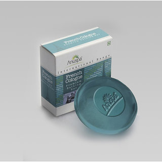 Anuspa Herbal French Cologne Soaps For Cool Men 125 gm
