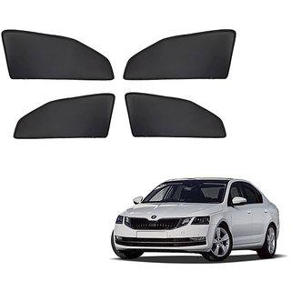 Generic Z Black  Magnetic  Curtain Car Sunshades Set Of 4-Skoda Octavia New
