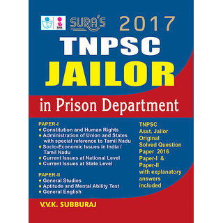 TNPSC Prison Department Jailor Exam Books 2017