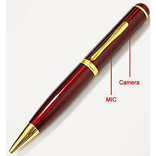 Night Vision Hidden HD Pen Camera With 1080p Vedio Recording And 32GB Memory Card Inbuilt