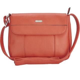 Lavie Verso Orange Messenger Bag