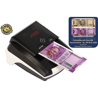 Maxsell Truscan Fully Automatic Portable Single Fake Note Detection Compatible New INR,Rs. 500  Rs. 2000 Currency Fake