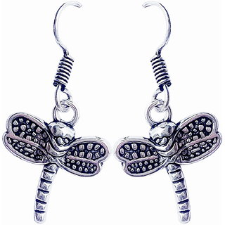 lovely butterfly earing with black oxadize