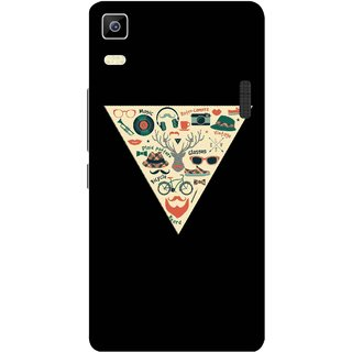 Print Opera Hard Plastic Designer Printed Phone Cover for Lenovo A7000 / lenovo K3 Note - Hipster collage