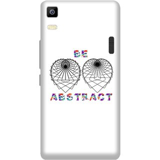Print Opera Hard Plastic Designer Printed Phone Cover for Lenovo A7000 / lenovo K3 Note - Abstract