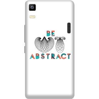 Print Opera Hard Plastic Designer Printed Phone Cover for Lenovo A7000 / lenovo K3 Note - Be Abstract