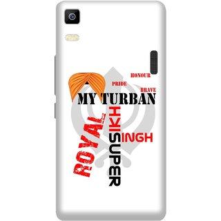Print Opera Hard Plastic Designer Printed Phone Cover for Lenovo A7000 / lenovo K3 Note - My turban