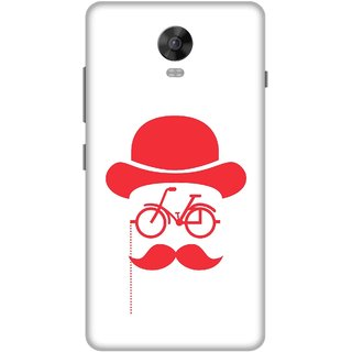 Print Opera Hard Plastic Designer Printed Phone Cover for Lenovo Vibe P1 / Vibe P1Turbo - Moustache with glasses