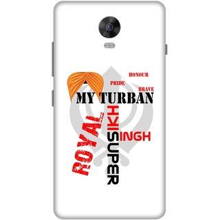 Print Opera Hard Plastic Designer Printed Phone Cover for Lenovo Vibe P1 / Vibe P1Turbo - My turban