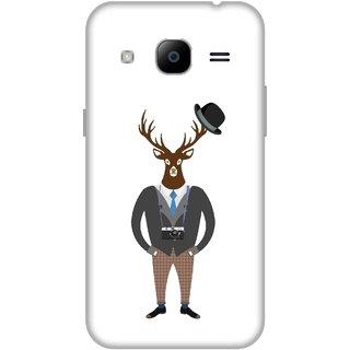 Print Opera Hard Plastic Designer Printed Phone Cover for Samsung Galaxy J2 2016 - Gentleman Dear