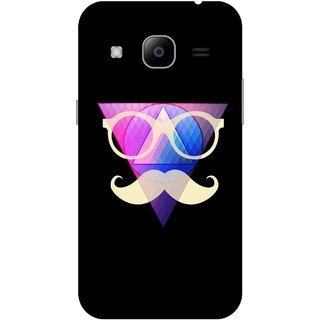 Print Opera Hard Plastic Designer Printed Phone Cover for Samsung Galaxy J2 2016 - Colourful glasses