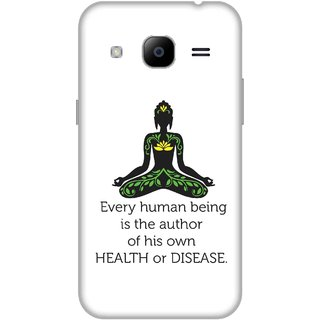 Print Opera Hard Plastic Designer Printed Phone Cover for Samsung Galaxy J2 2016 - Every humanbeing is author