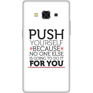Print Opera Hard Plastic Designer Printed Phone Cover for Samsung Galaxy J3 Pro - Push yourself