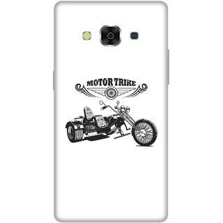 Print Opera Hard Plastic Designer Printed Phone Cover for Samsung Galaxy J3 Pro - Motor Trike