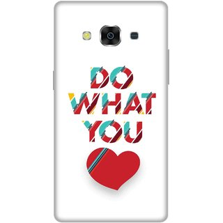 Print Opera Hard Plastic Designer Printed Phone Cover for Samsung Galaxy J3 Pro - Do what you love