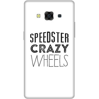 Print Opera Hard Plastic Designer Printed Phone Cover for Samsung Galaxy J3 Pro - Speedster crazy wheels