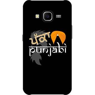 Print Opera Hard Plastic Designer Printed Phone Cover for Samsung Galaxy J7 2015 - Pakka punjabi