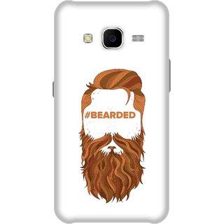 Print Opera Hard Plastic Designer Printed Phone Cover for Samsung Galaxy J7 2015 - Bearded