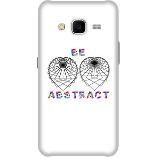 Print Opera Hard Plastic Designer Printed Phone Cover for Samsung Galaxy J7 2015 - Abstract