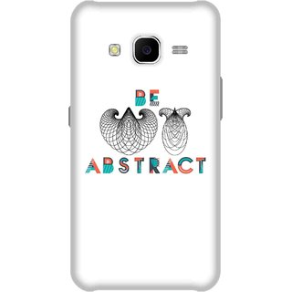 Print Opera Hard Plastic Designer Printed Phone Cover for Samsung Galaxy J7 2015 - Be Abstract