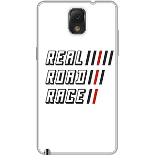 Print Opera Hard Plastic Designer Printed Phone Cover for Samsung Galaxy Note 3 - Real road race