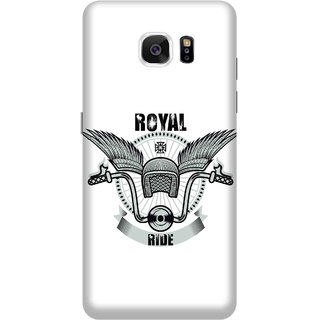 Print Opera Hard Plastic Designer Printed Phone Cover for Samsung Galaxy Note 5 - Royal Ride