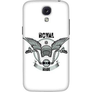 Print Opera Hard Plastic Designer Printed Phone Cover for Samsung Galaxy S4 - Royal Ride